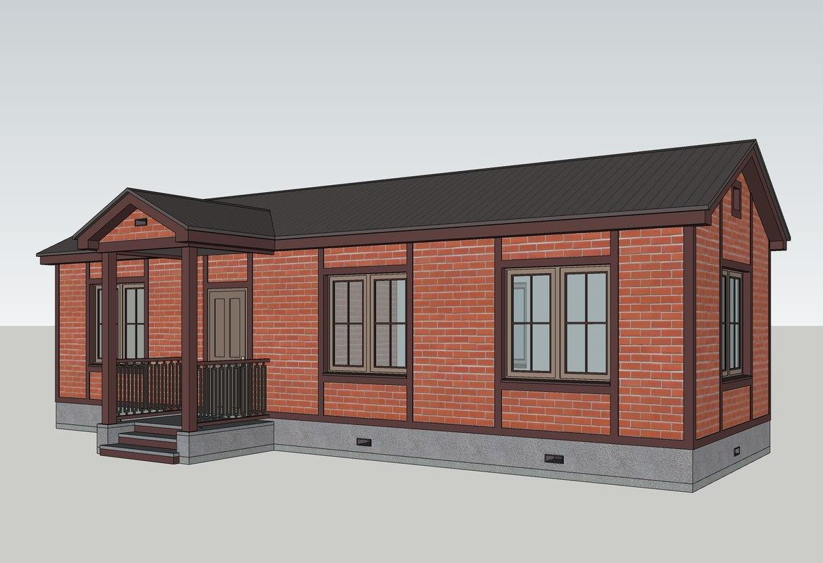 3D classic house model