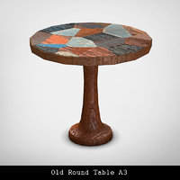 Old Round Table A3