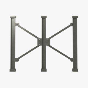 3D frame truss girder