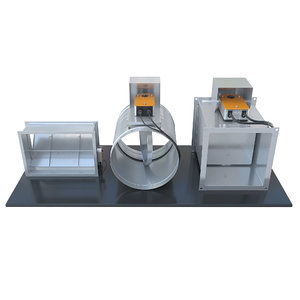 3D model air dampers ventilation