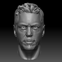 sculpt downey jr 3D model