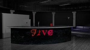 3D scene news l t model
