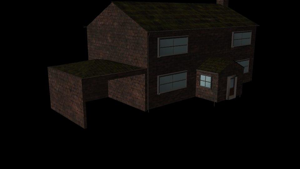 old farm house model