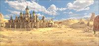 Desert_Goblins Fantasy Castle