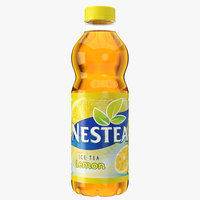 nestea lemon bottle 3D model