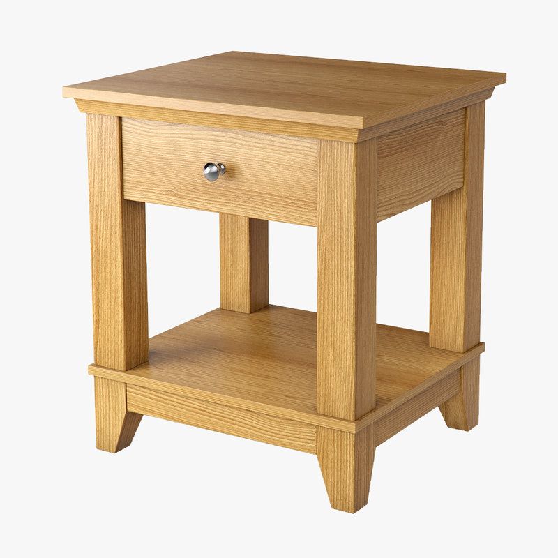 3D model small table