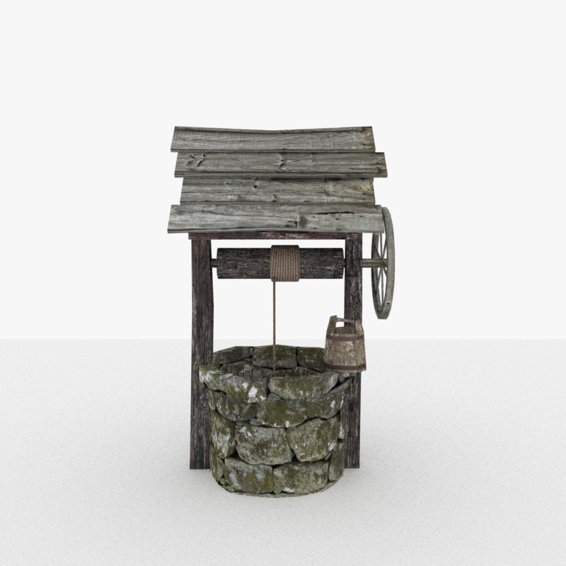 waterwell old 3D model