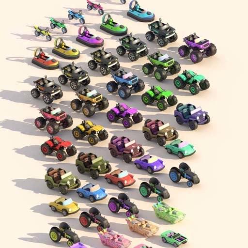 3D pro car model