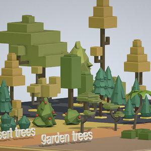 isometric cities 3D model
