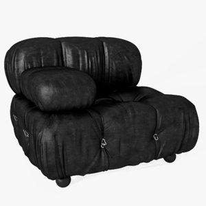 modular sofa camaleonda 3D model