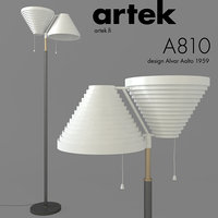 3D artek floor lamp a810