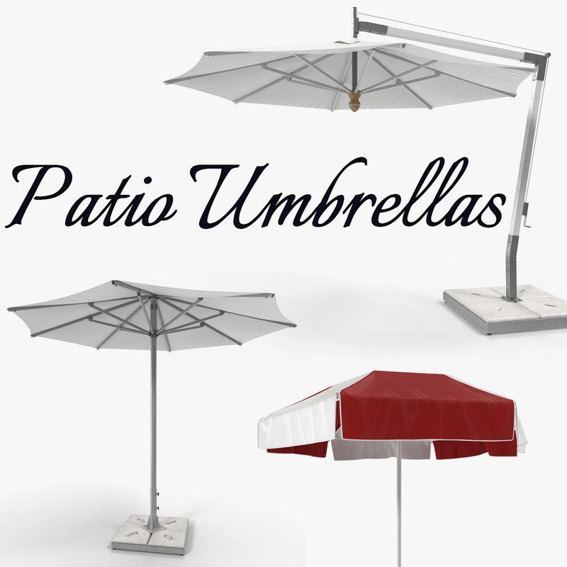 patio umbrellas model