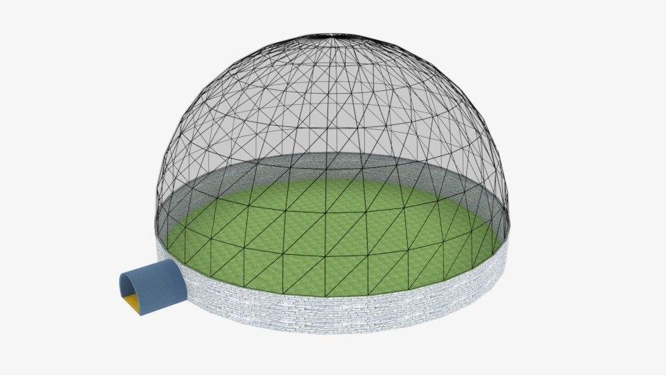 bio dome 3D model