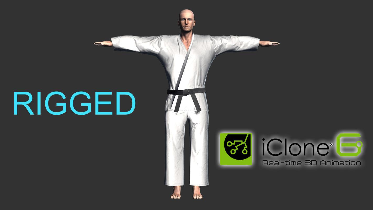 3D fighter karate
