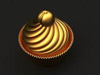 cake mold hand 3D model