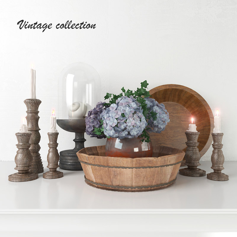 decorative set interior 3D