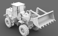 3D tractor agrimotor