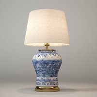 3D eichholtz table lamp chinese