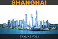 Shanghai Skyline vol1