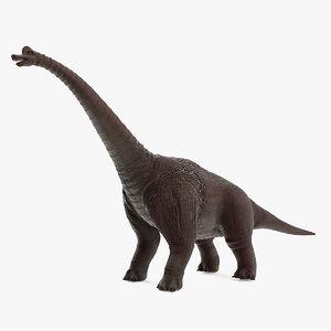 3D brachiosaurus model