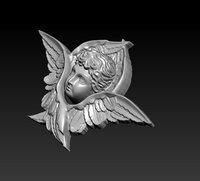 3D baby angel