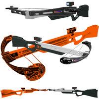 3D modern crossbow arbalet model