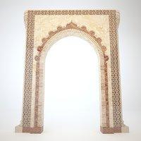 islamic arch model