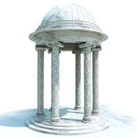 rotunda 3D model