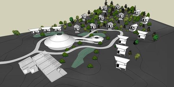 farmstay 3D model