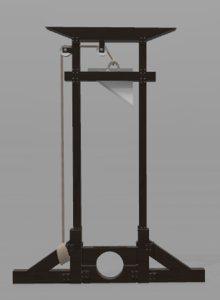 guillotine sketchfab 3D model