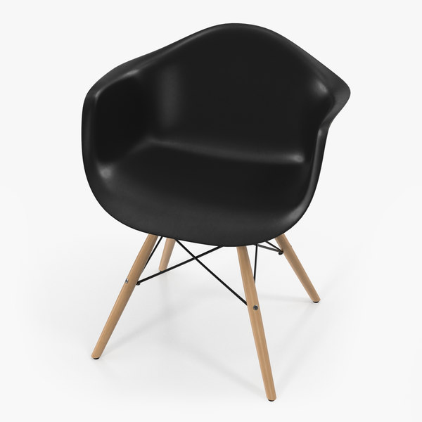 3D pascal black plastic modern model