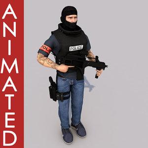 officer bri model