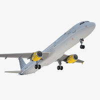 airbus a321 vueling airlines 3D model