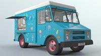 ice cream truck 3D
