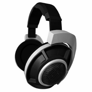 headphones electronics headset 3D model