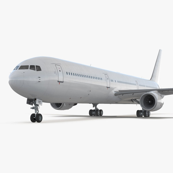 3D model boeing 767-400 interior generic