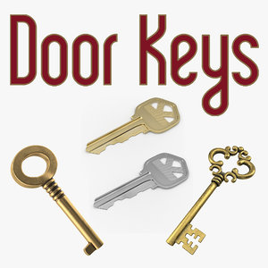 door keys model