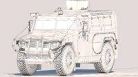 Military vehicle Gaz tiger 2230