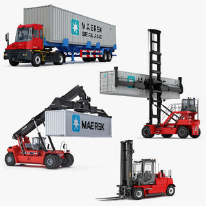kalmar terminal container machines model