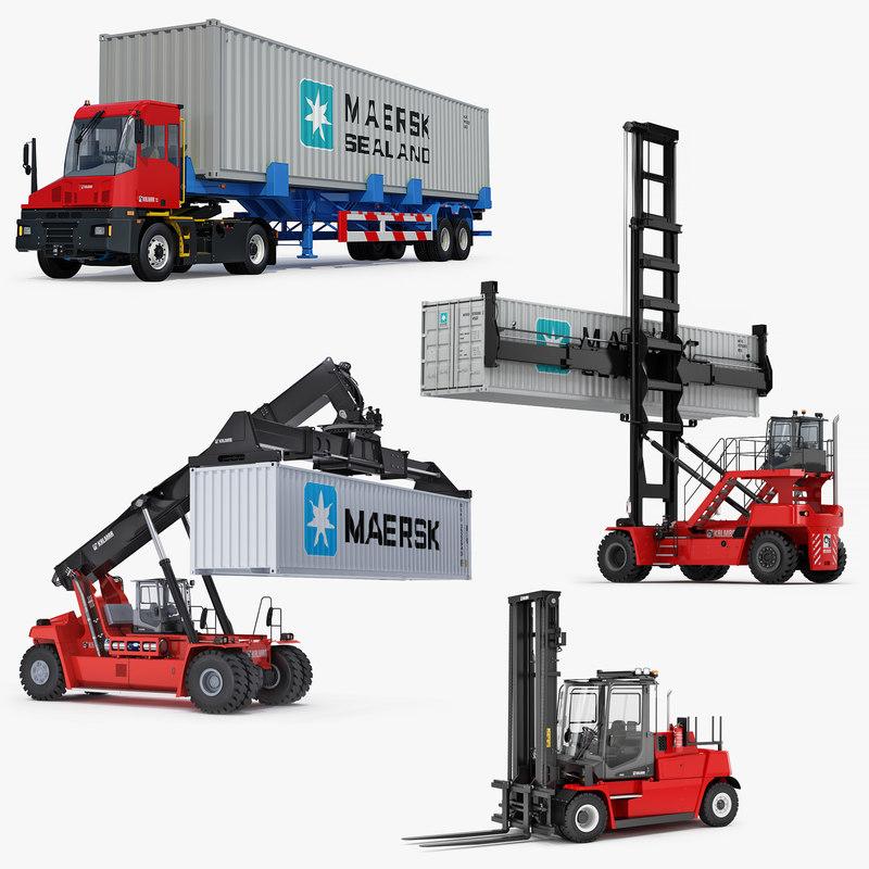 kalmar terminal container machines model