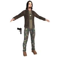 urban man 3D model