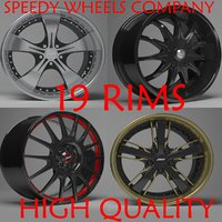 3D model speedy wheels rims