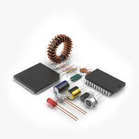 3D radio components
