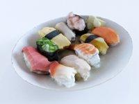 sushi vr ar 3D model