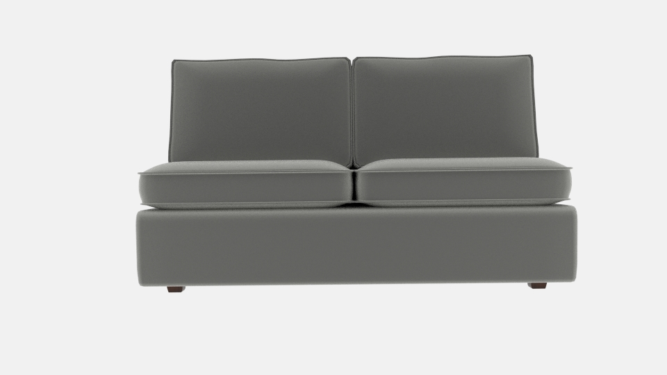 Armloses Sofa Mit Halsey Modell