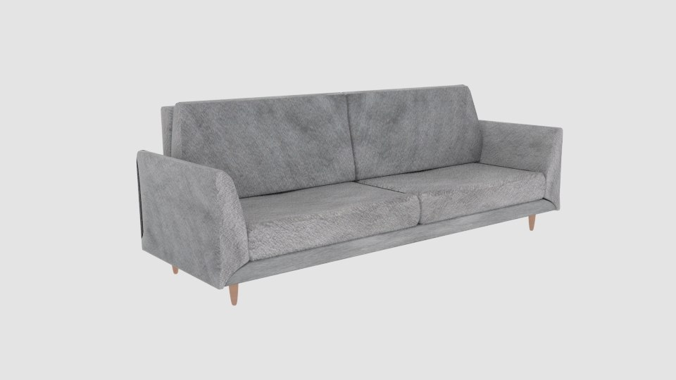 modern three-seat sofa boconsep 3D