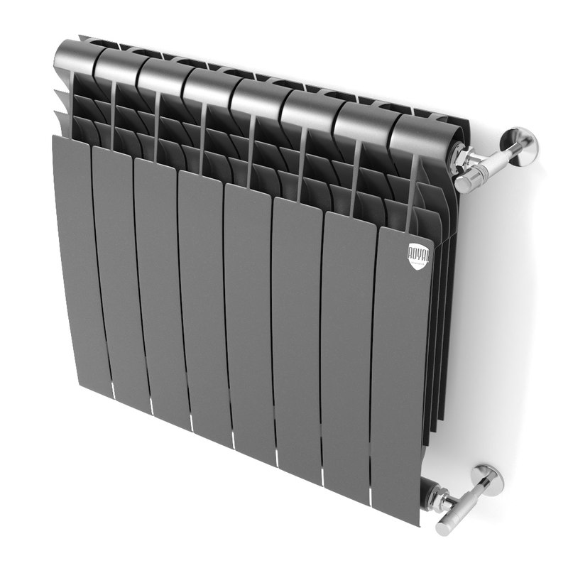 3D model radiator heating