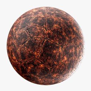 3D lava planet