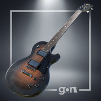 gibson les paul guitar 3D model