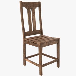 old chair model